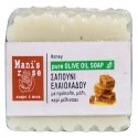 Pure Olive Oil Soap Honey - 100g - by brand Manis Rose