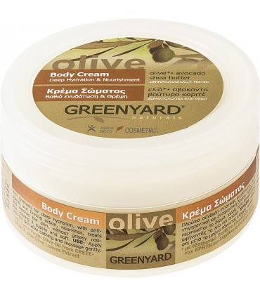 Greenyard Body Cream Olive, Avocado, Shea Butter