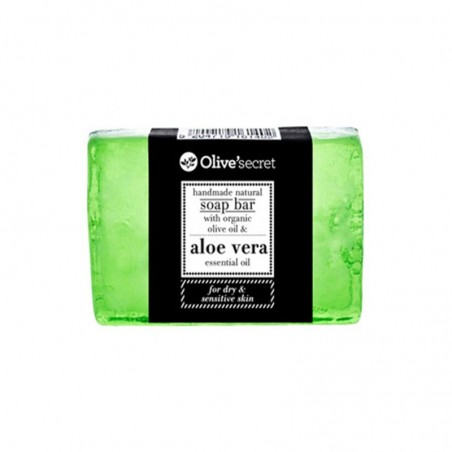 Hand soap with Aloe Vera - by Olive Secret - 100 gr