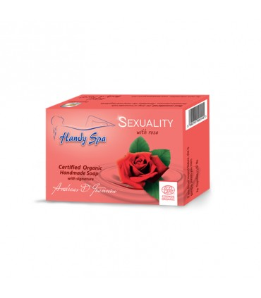 Handyspa Sexuality soap with rose