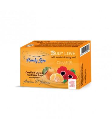 Handyspa Body Love Soap with Tangerine & Poppy Seed
