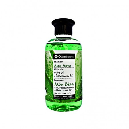 Shampoo with Aloe Vera - by Olive Secret - 300 ml