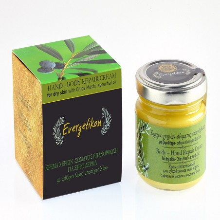 Body and hand repair creme - by Evergetikon - 100 ml