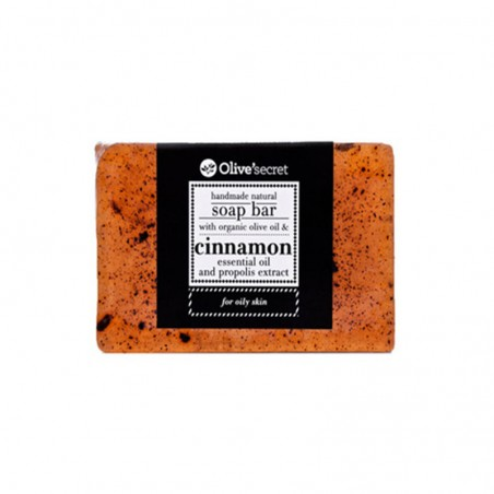 Handmade Soap with Cinnamon - by Olive Secret - 100 gr
