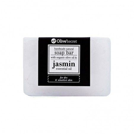 Handmade Soap with Jasmine - by Olive Secret - 100 gr