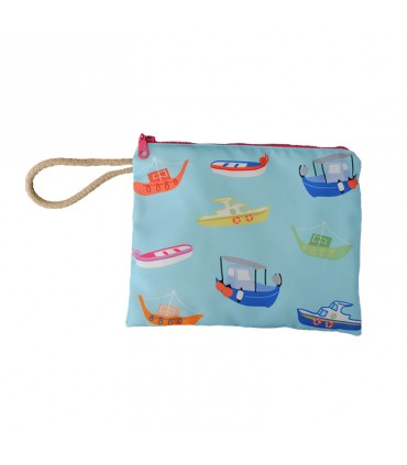 Greek boats pouch