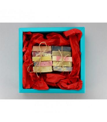 Christmas gift set 10 soaps